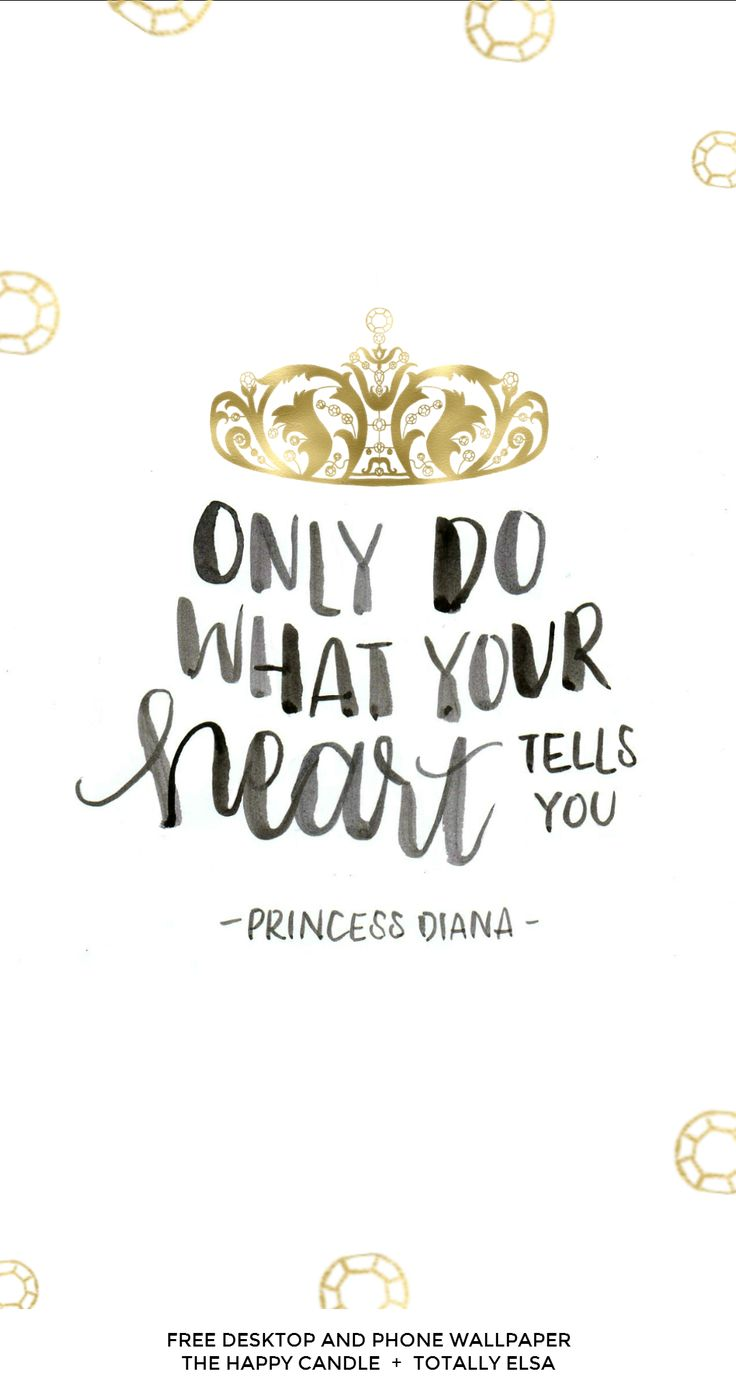 Such a lovely message which can be related to anyone,don't follow the crowd         - Princess Diana