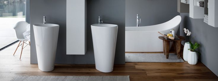 Laufen - Palomba Collection, finger print of nature in the bathroom.