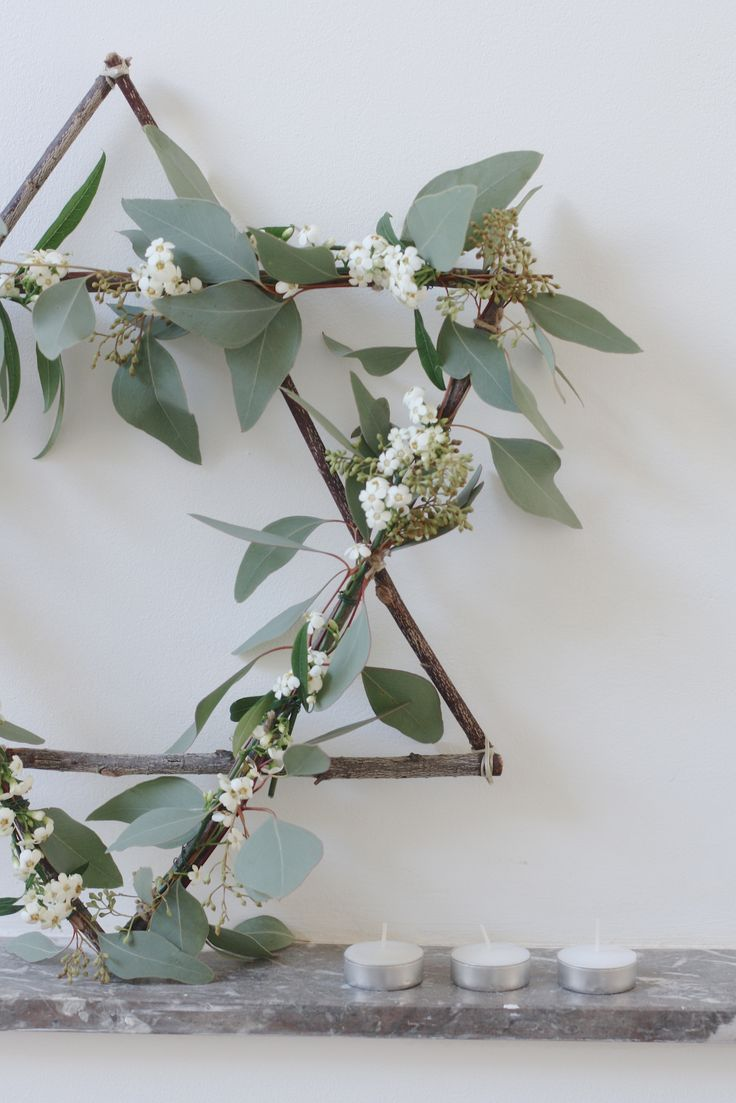 ❤︎   star wreath   -  how-to by holly marder/avenue lifestyle