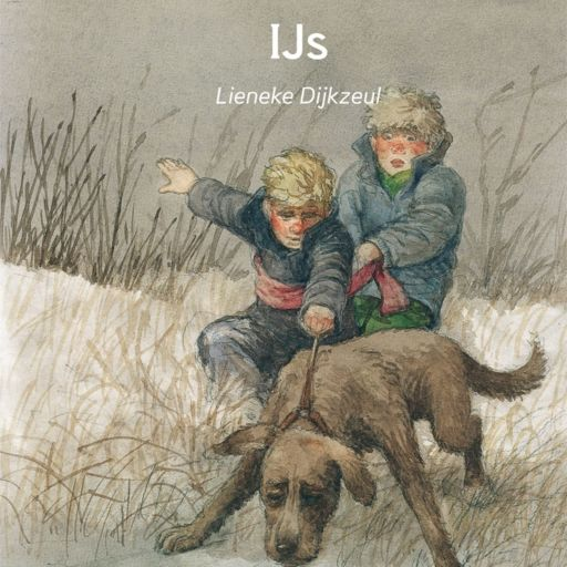 IJs | Lieneke Dijkzeul: Boris en Jan zien op het ijs een blaffende hond staan. Voorzichtig gaan ze kijken wat er aan de hand is. Verhaal in…