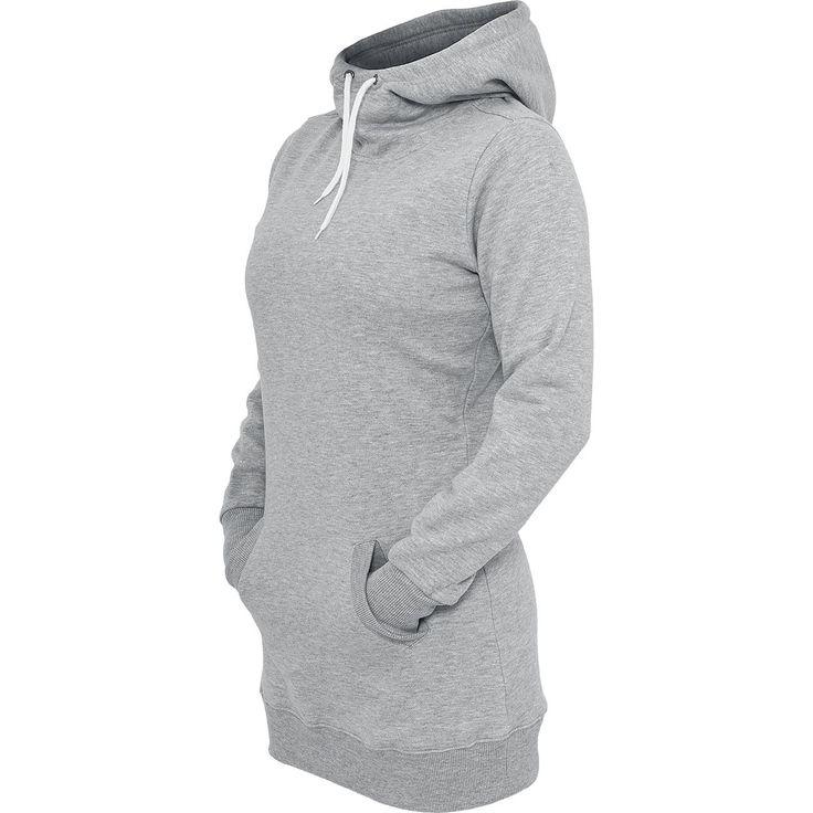 Ladies Long Sweat Hoody - Kapuzenpullover von Urban Classics