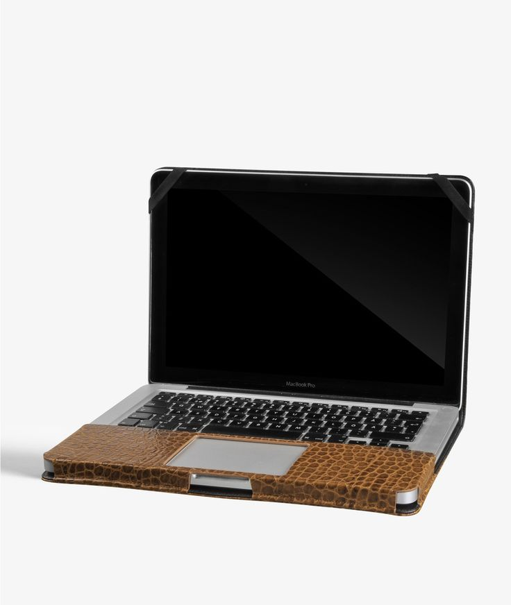 "MacBook Pro 15"" Cover - Crocodile Cognac.   Exclusive handcrafted leather cases for iPhone, iPad and MacBook from The Case Factory"