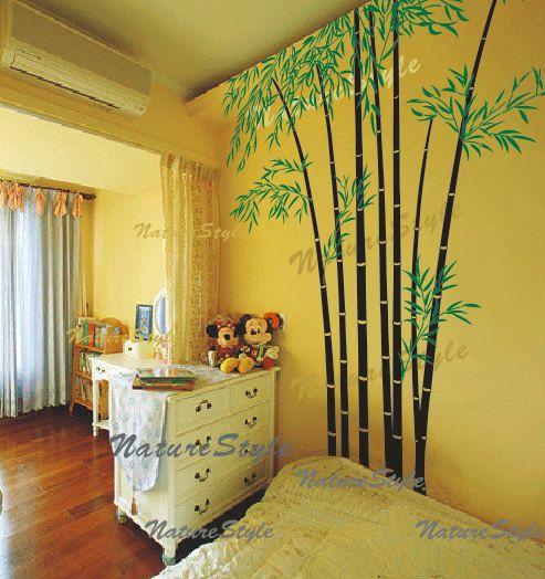 236 best Autocollants Bambou - Bamboo Stickers, Stencils (et Papyrus ...