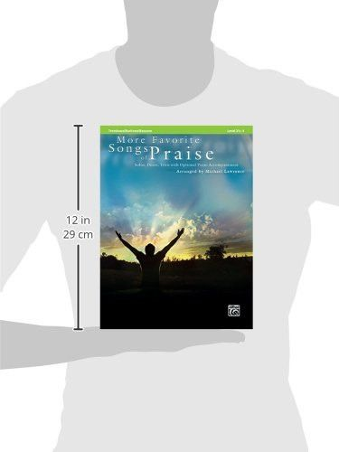 More Favorite Songs of Praise (Solo-Duet-Trio with Optional Piano): Trombone/Baritone/Bassoon/Tuba (