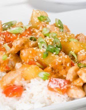 Sweet n Sour Chicken - Pressure cooker