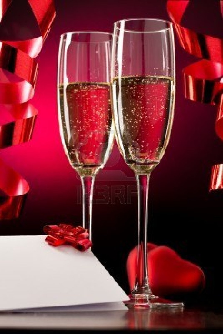 *Champagne for Valentine's Day