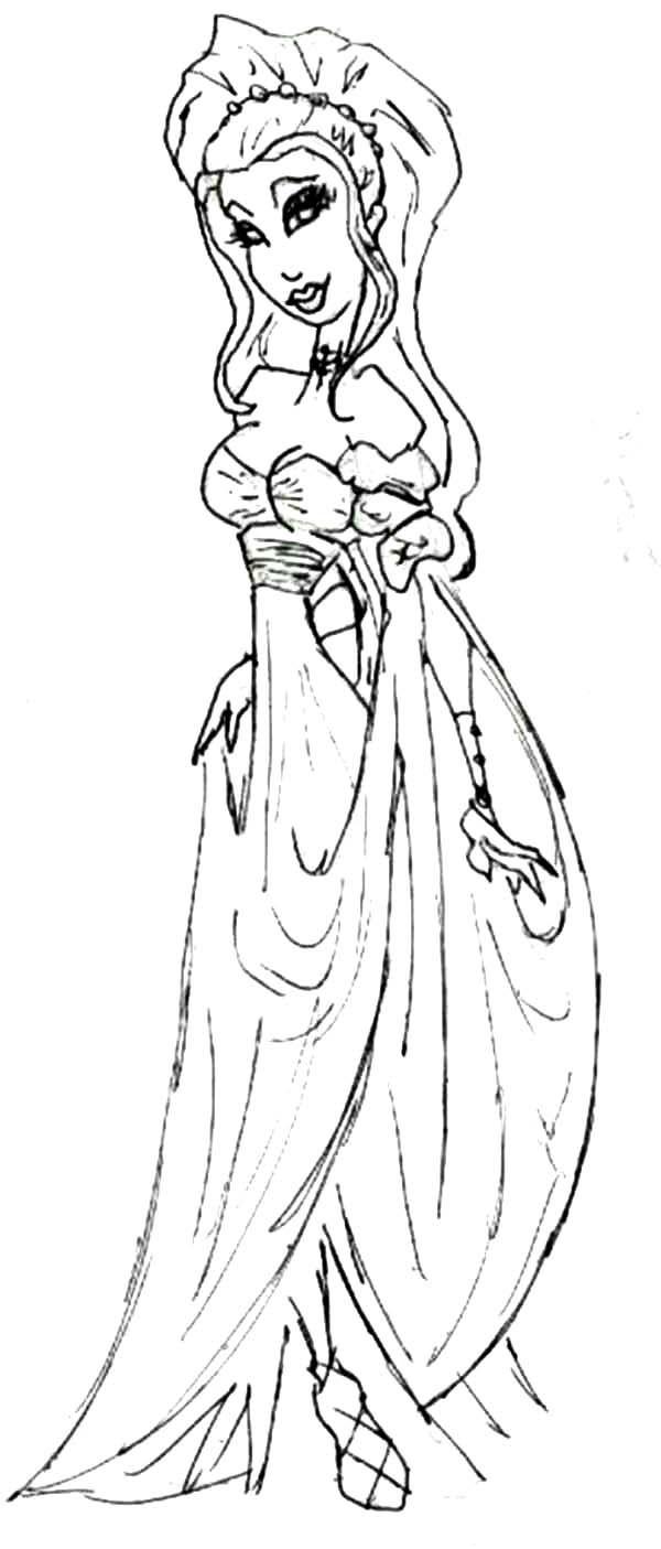 Aphrodite Cartoon Of Aphrodite Coloring Page Coloring Pages Cartoon Coloring Books