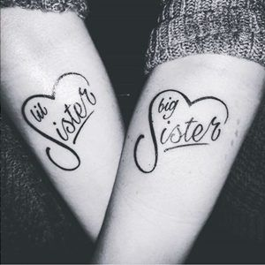 Sister Tattoos: 30 Sister Tattoo Ideas For You and Your Sis! - Part 8