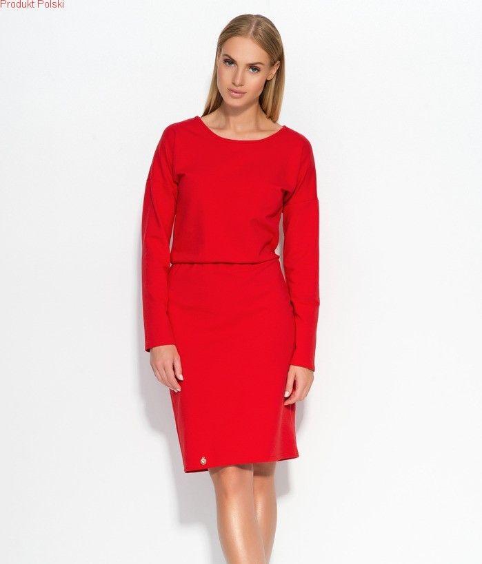 Klasyczna sukienka bawełniana Zapraszamy do sklepu online Eve Polka oraz sklepu stacjonarnego w centrum handlowym Land w Warszawie.
