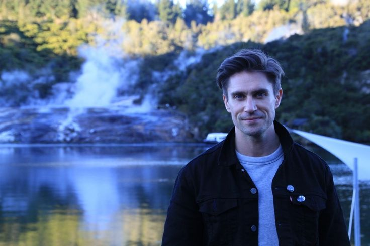 'Arrow' TV star Michael Rowe at Orakei Korako