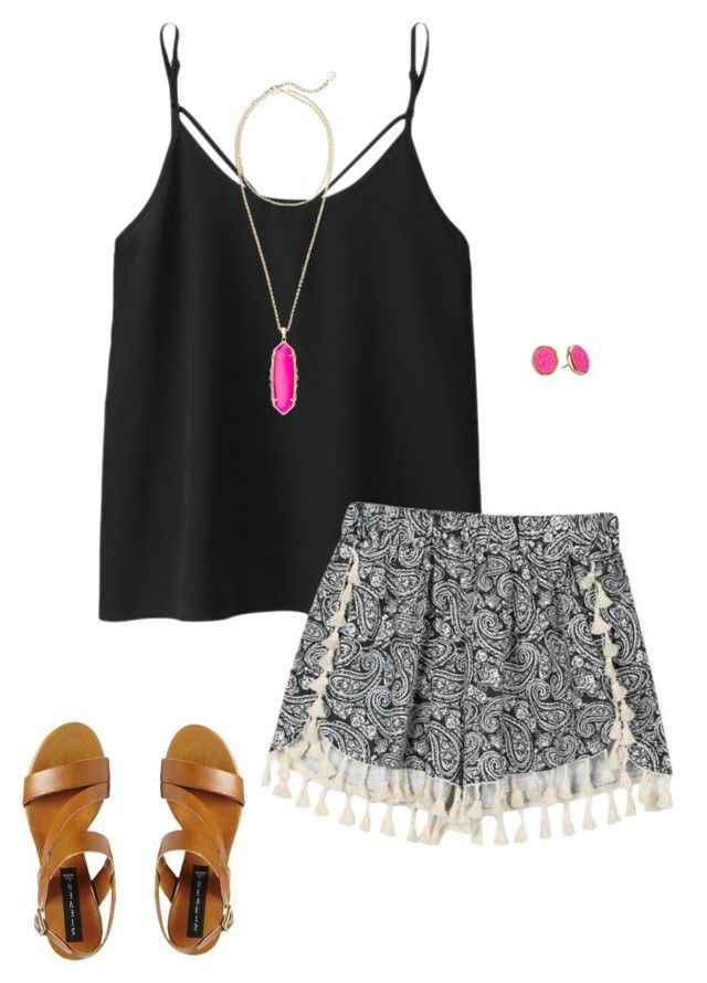 """""""Bohemian"""" by hoperodgers08 ❤ liked on Polyvore featuring Kate Spade, Steve Madden, Kendra Scott, women's clothing, women's fashion, women, female, woman, misses and juniors"""