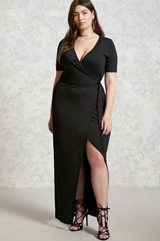 Looking for Plus Size Fashion & You're on a Budget? Bookmark these Places! http://thecurvyfashionista.com/2017/02/plus-size-fashion-budget/  A great staple to your closet? A black plus size wrap dress!   Looking to get more fashion for your money when you shop?  There are several retailers who offer great plus size fashion for under $50.  And today we share with you 10 places to shop when you are on a budget and to bookmark!