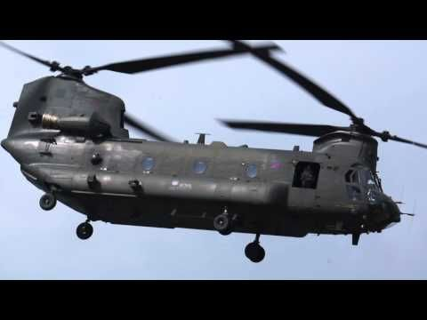Amazingly agile  Helicopter; Boeing CH-47 Chinook