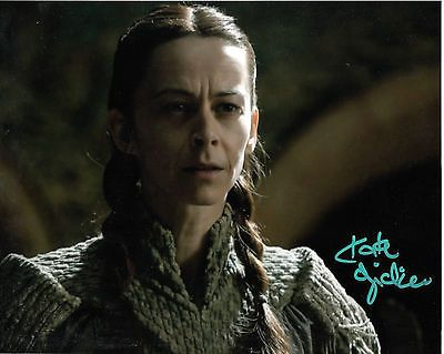 Kate dickie #signed game of thrones #photo television #autographs authentic 2,  View more on the LINK: http://www.zeppy.io/product/gb/2/151594035464/