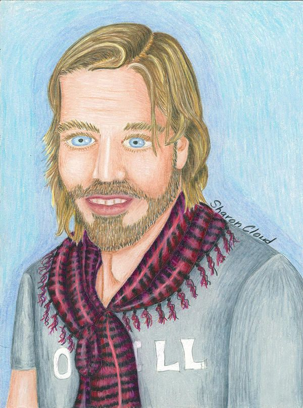colored pencil drawing that I drew of an Argentina actor named Facundo Arana.