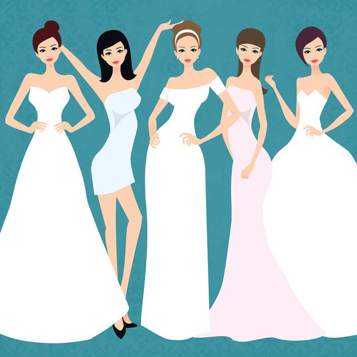 © The Wedding Notebook - The Perfect Bridal Gown for Your Body
