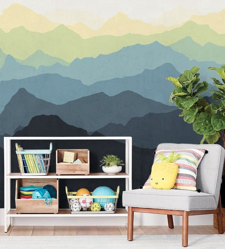 25 best ideas about mountain wallpaper on pinterest for Aithihya mural painting fabrics