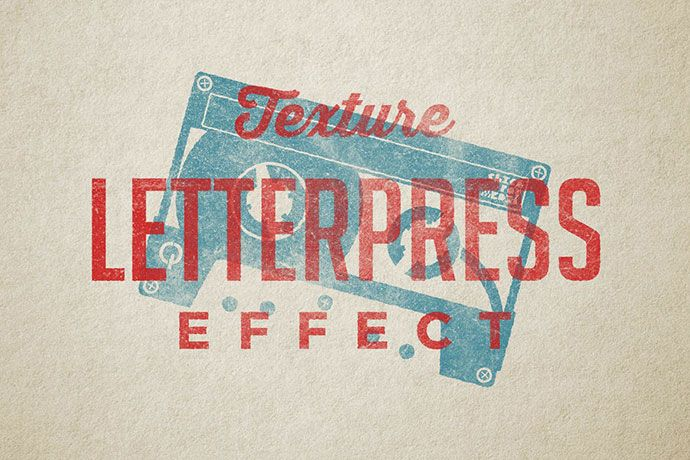 20 Cool Retro Vintage Text Effects For Photoshop Photoshop Text Effects Letterpress Text Effects