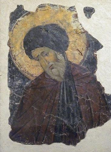 Fresco of a Saint Byzantine 10th-11th century CE Metropolitan Museum