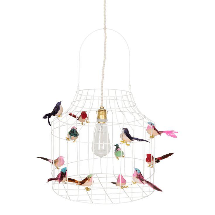 Hanglamp met vogeltjes, net echt! Mooi voor boven de eettafel, werktafel, in de hal of op de kinderkamer. Nooit meer alleen slapen! Bekijk de collectie nu!