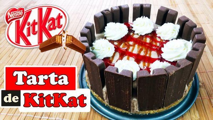 #menú #postre Tarta de #kitkat sin horno y grenetina --> https://www.petitchef.es/recetas/postre/tarta-de-kitkat-sin-horno-y-grenetina-fid-1568193?utm_content=buffer04203