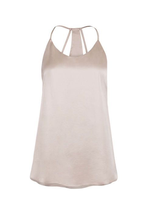 LADIES' SHIMMER STRAPPY TANK