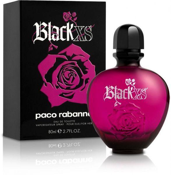 Black Xs For Her By Paco Rabanne For Women Eau De Toilette 80ml Women Perfume Luxury Perfume Pink Perfume