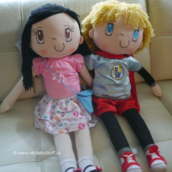 My Friend Huggles dolls