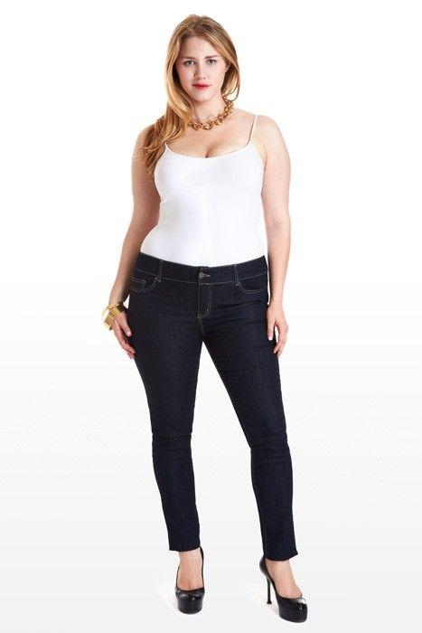 51 best images about Jeans on Pinterest | Plus size jeans, Plus ...