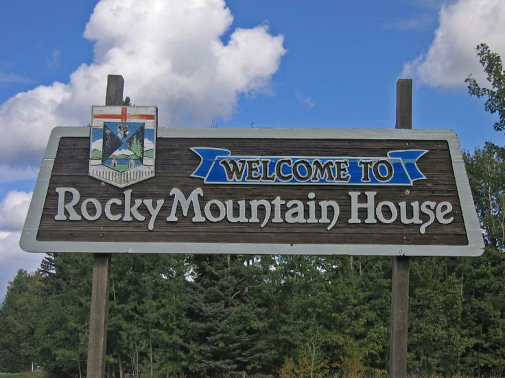 Modern day rocky mountain house
