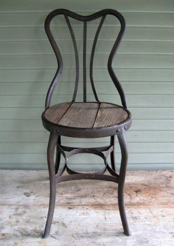 Fine Toledo Perfection Soda Fountain Ice Cream Parlor Chair Stool Uhl Art  Steel Turn Of The