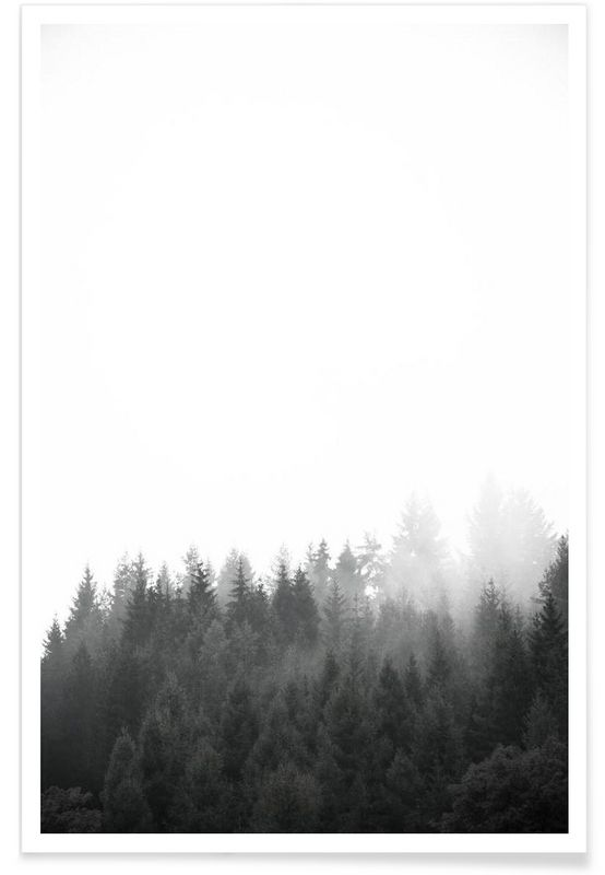 Walk Through The Forest en Affiche premium par Studio Nahili | JUNIQE