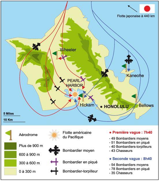 ⌛️ 7 décembre 1941 : attaque de Pearl Harbor