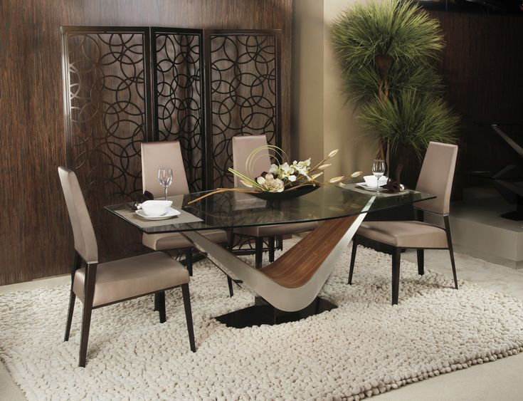 Attractive Semi Modern Furniture #11: Elite Victor Dining Set Join Contemporary Lifestyles This Labor Day Weekend  For Our Semi Annual Sale