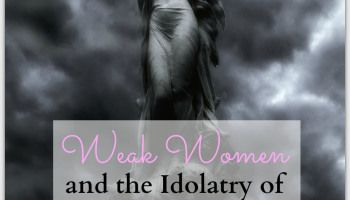 Weak Women and the Idolatry of Personal Experience-a commentary on proverbs 31 ministries etc.  Pinning this because I want to explore some of the links - from what I have read so far I both agree and disagree. I have read many books that have touched my life in 'sound bite' ways. God use them to offer me hope; but if I had stopped there and did not pursue Him further in the Truth of His Word - these books would have no doubt left me empty still. The true power lies in Theology, not…