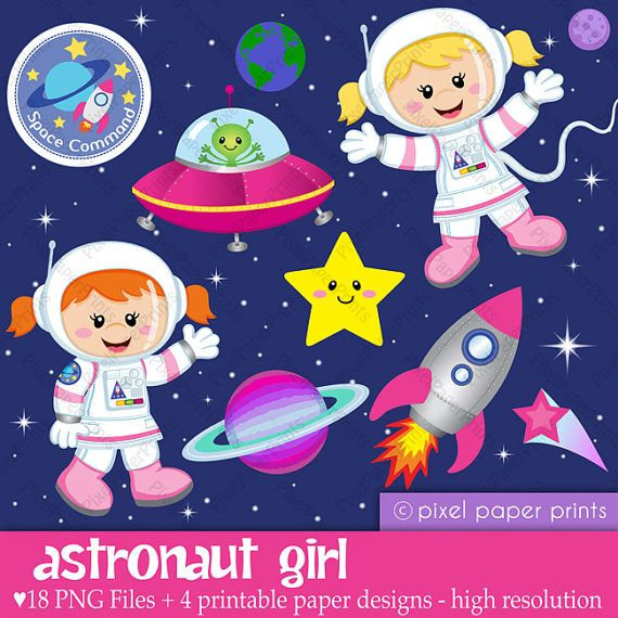 Hey, I found this really awesome Etsy listing at http://www.etsy.com/listing/96417691/astronaut-girl-digital-paper-and-clip