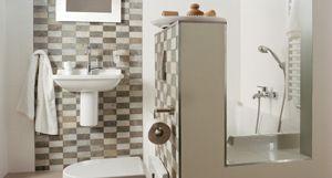 Plieger heeft ook stijlvolle oplossingen voor de kleine badkamer.