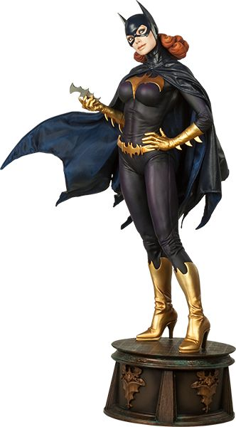 Batgirl Premium Format™ Figure by Sideshow Collectibles  Would love to get this piece! Love Batgirl!