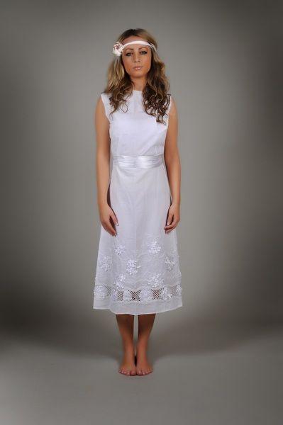 70er Brautkleid LILI Hochzeitskleid Hippie  GR 36  von Laolamode auf DaWanda.com