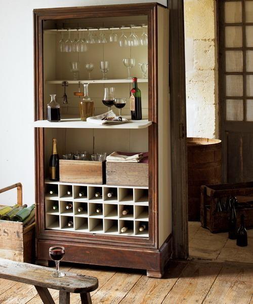 Home Mini Bar Ideas | 25 Mini Home Bar and Portable Bar Designs Offering Convenient Space ...