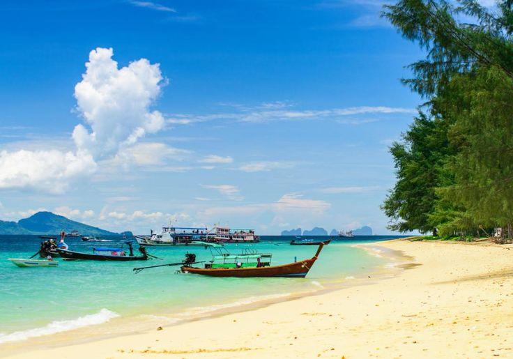 Koh Kradan er en lille skøn paradis-ø. Her er kun to resorts og nogle af de bedste strande i Thailand.