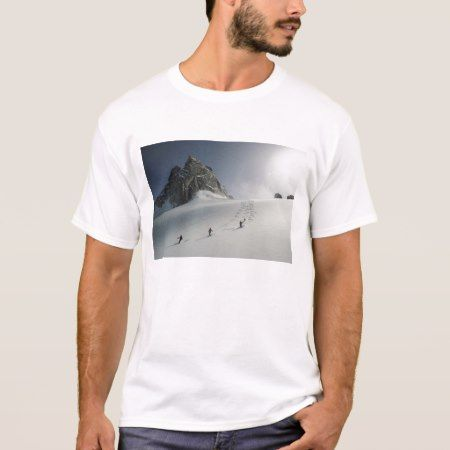 Bugaboos Ski Area, Purcell Mountains, Rocky T-Shirt - click/tap to personalize and buy