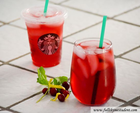 How to make Starbucks passion iced tea at home!!  Now I won't spend a fortune on this amazing drink :)