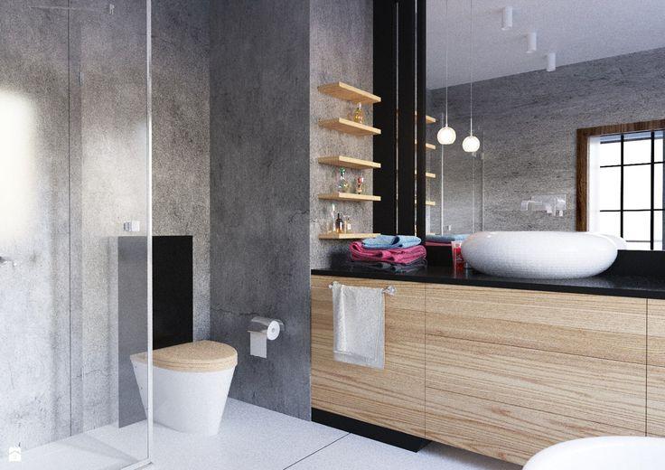 Łazienka styl Minimalistyczny - zdjęcie od SIKORA WNĘTRZA - Łazienka - Styl Minimalistyczny - SIKORA WNĘTRZA