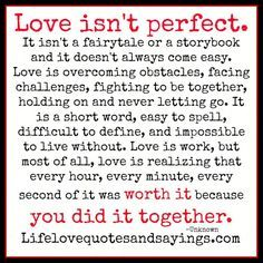 Love isn't perfect..But its #AWESOME! - http://www.awesomeactually.com/2014/03/10/love-isnt-perfect-awesome/