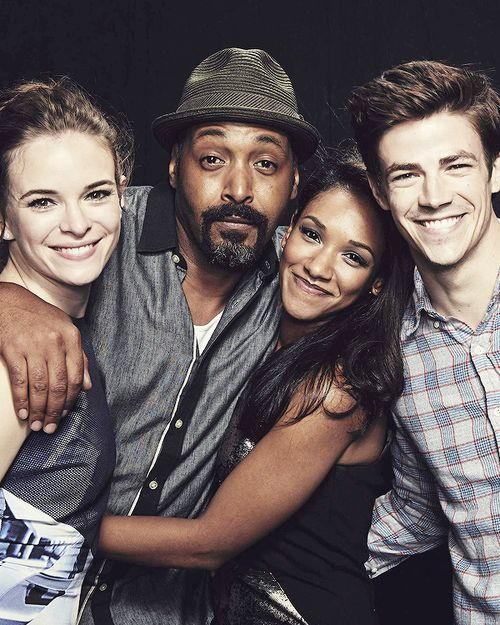 The Flash - Danielle Panabaker, Jesse L. Martin, Candice Patton, Grant Gustin