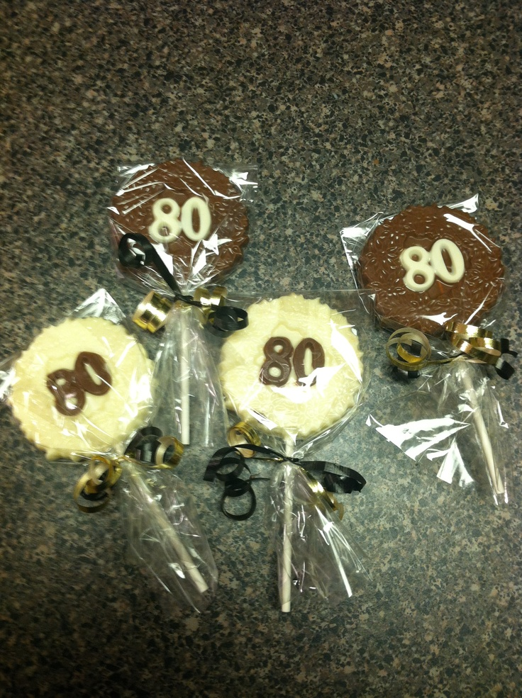 80th birthday party suckers 80th birthday party ideas for 80th decoration