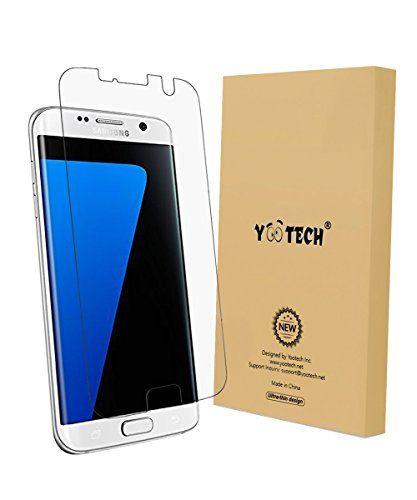 nice Galaxy S7 Edge Protectordepantalla, YOOTECH    Wet Applied ProtectordepantallaparaSamsungGalaxy S7 Edge HDClaroAnti-BurbujaPelícula-Garantíadepor vida