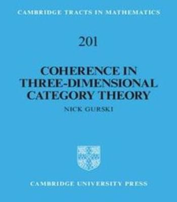 Coherence In Three-Dimensional Category Theory PDF