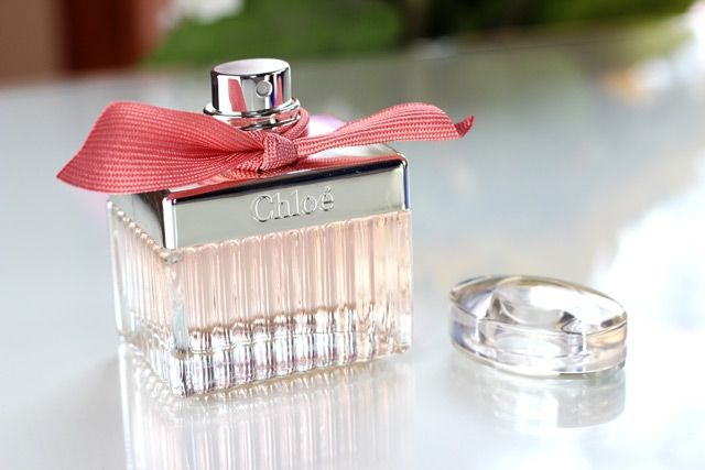 Chloe Rose...NEED♡♡♡♡♡ I♡ my diptyque rose parfum these 2 r very similar..This bottle n red bow is the cutest♡♡♡
